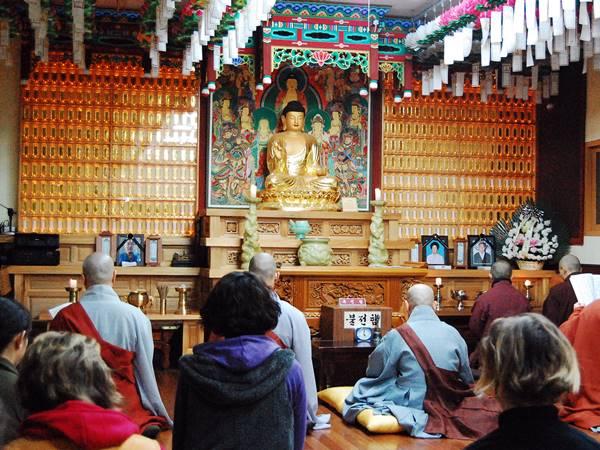 Bo i tempel i Golguksa